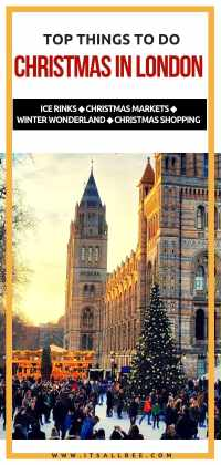 Top Things to Do in London During Christmas Holidays | Ice Rinks, Christmas Markets and Christmas Light...