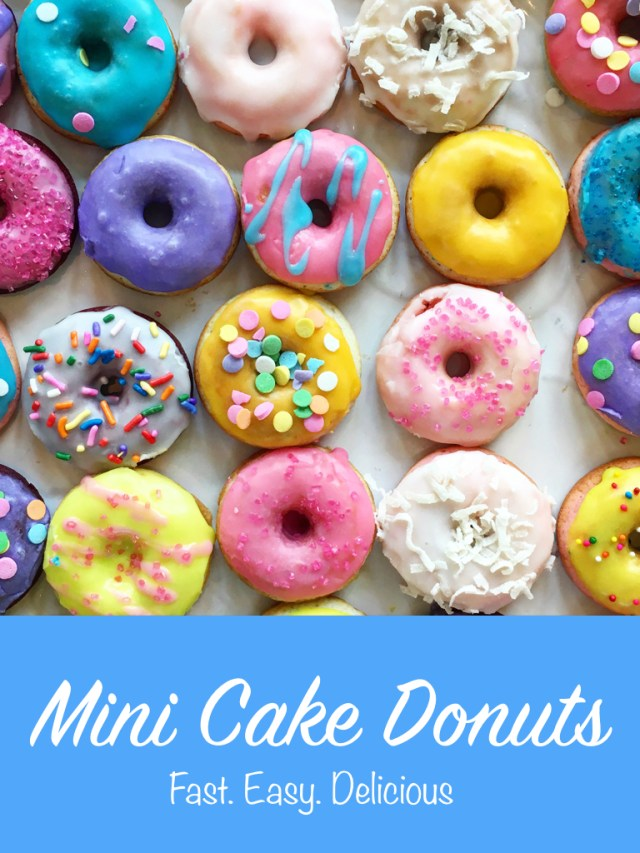 Easy Mini Cake Donut Recipe   It's All Chic To Me