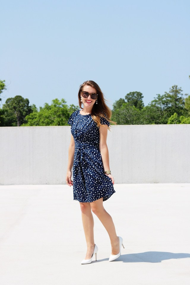 Polka Dot Work Dress | It's All Chic To Me