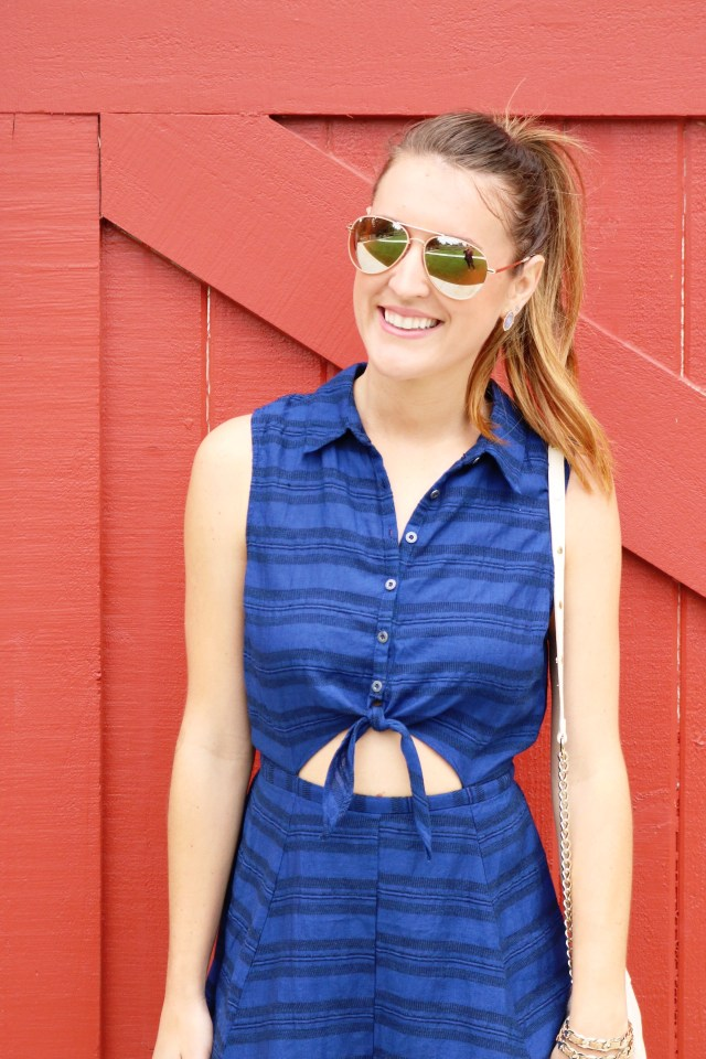 Tie Front Romper | It's All Chic To Me