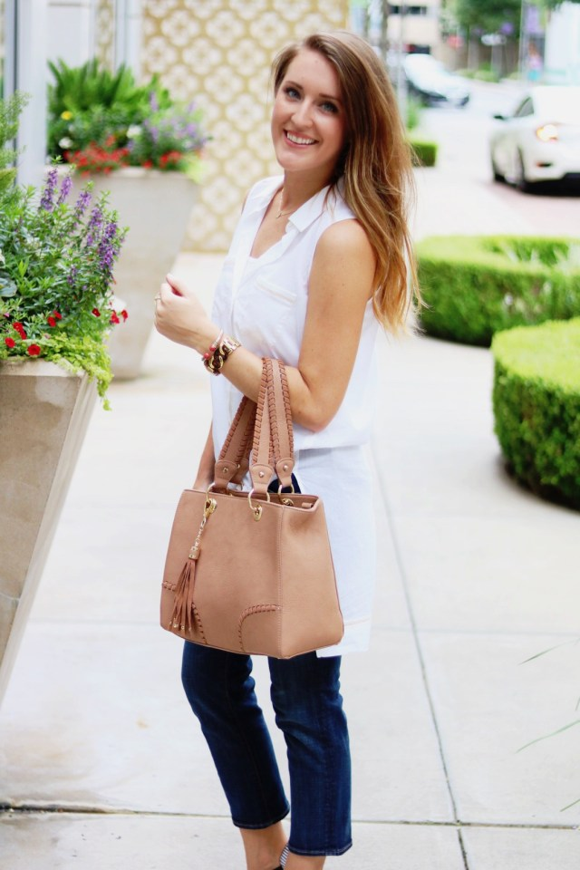 White Tunic | Casual Style | Weekend Wear with Lilla P. | It's All Chic To Me