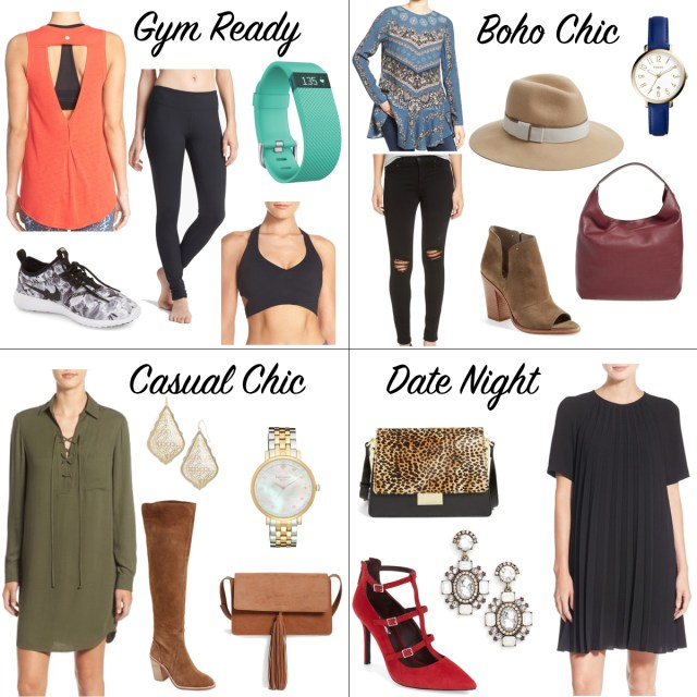 4 Every Day Outfits via Nordstrom   Which is your favorite look?