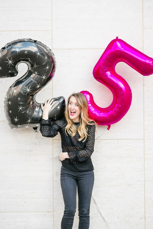 25th Birthday post, 25 things about me, Quarter life crisis moment