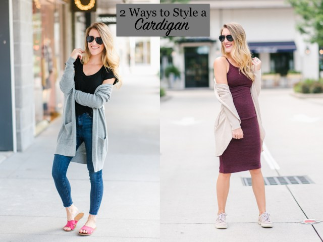 2 Ways to Style Cardigans
