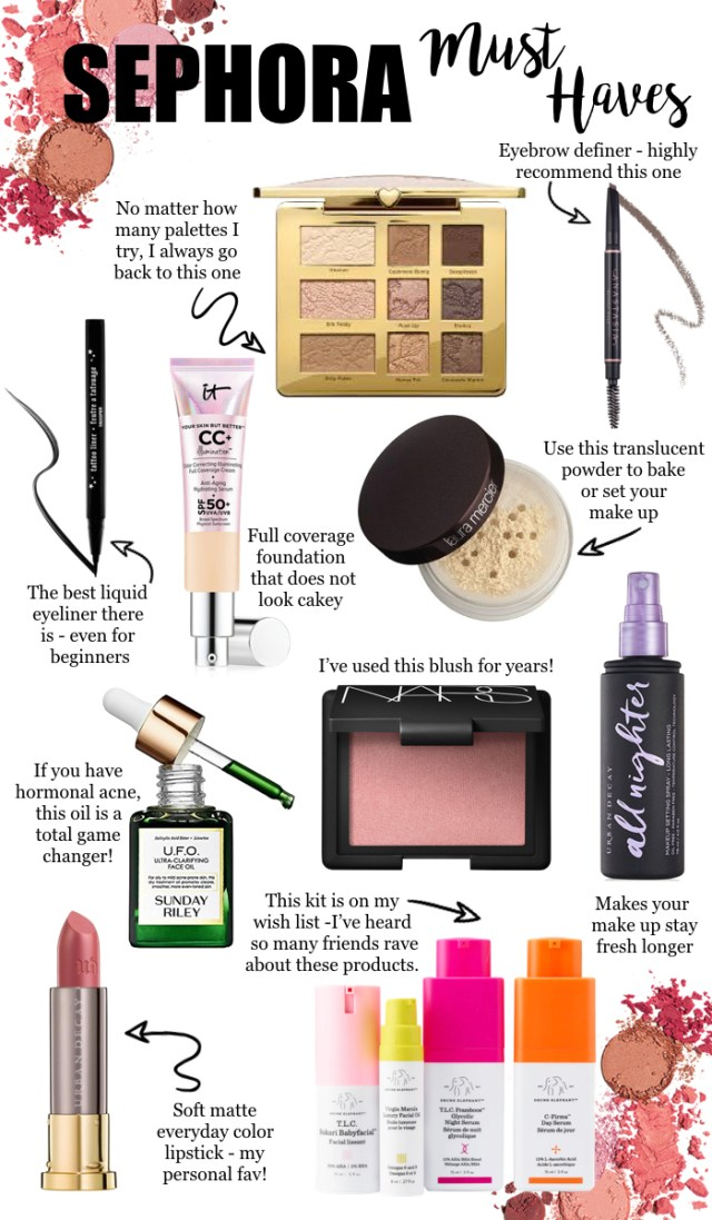 Sephora Must Haves, Beauty Favorites