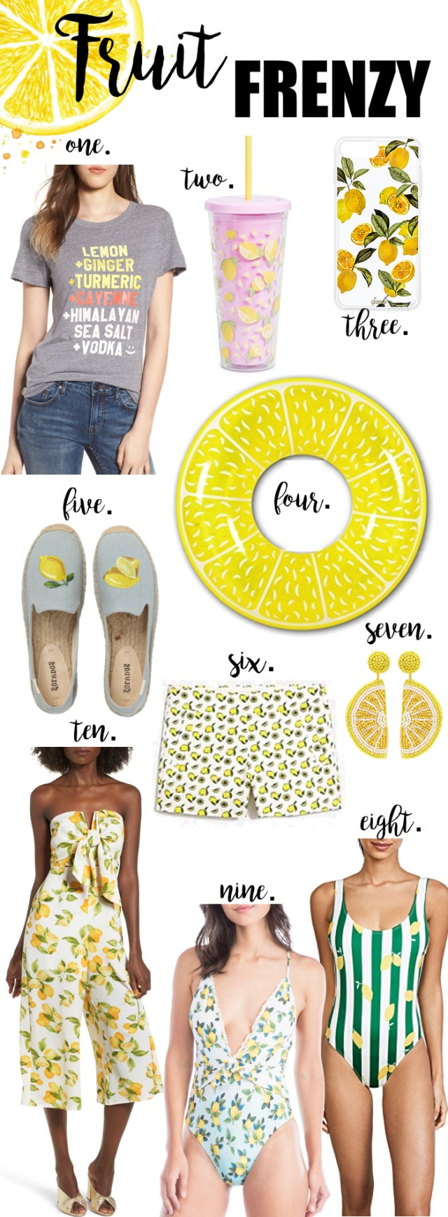 Lemon Summer Trends