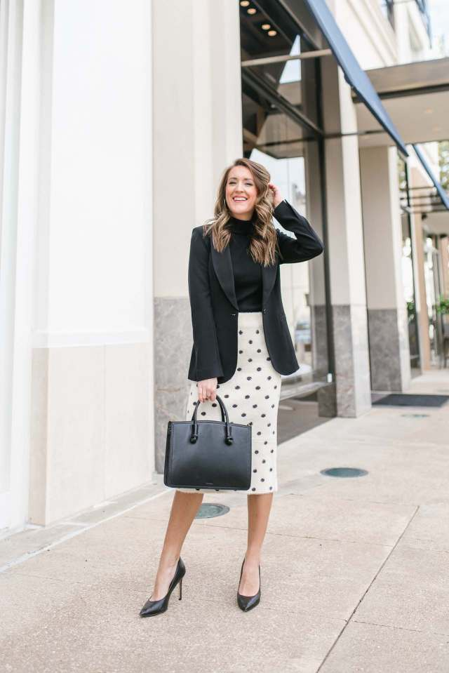 Work Wear Wednesday Midi Skirt