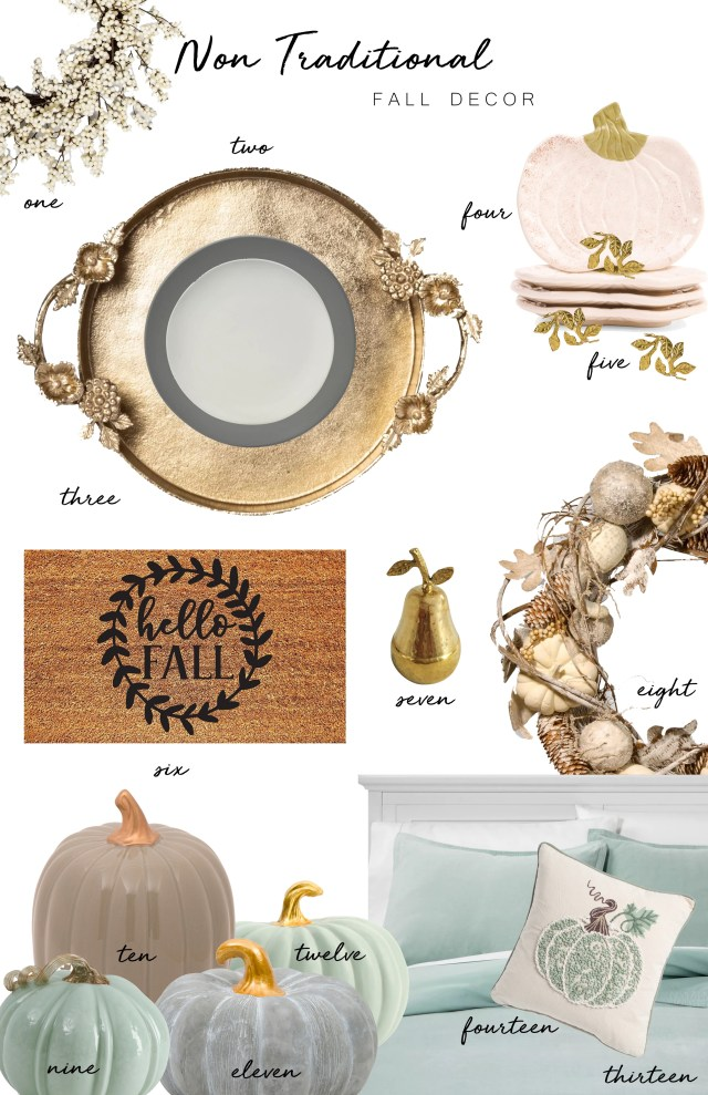Affordable Fall Home Decor