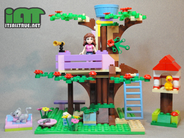 Manekochan Review Lego Friends Olivias Tree House 3065 It