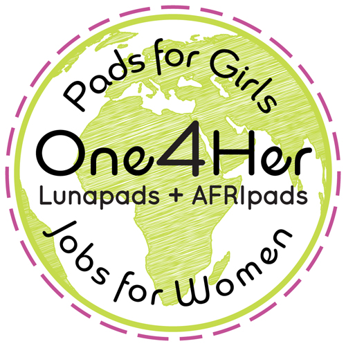 Logo for Pads4Girls