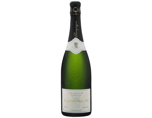CHAMPAGNE PREMIER CRU R GABRIEL PAGIN FILS $57 SGD Hand-harvested grapes grown by principles to  preserve and enhance the terroir and biodiversity.