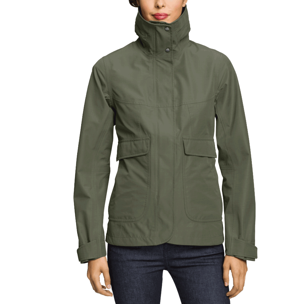 Green Jacket Waterproof