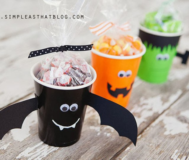 Best Diy Halloween Treat Bag Boxes Cups And More Perfect Favors