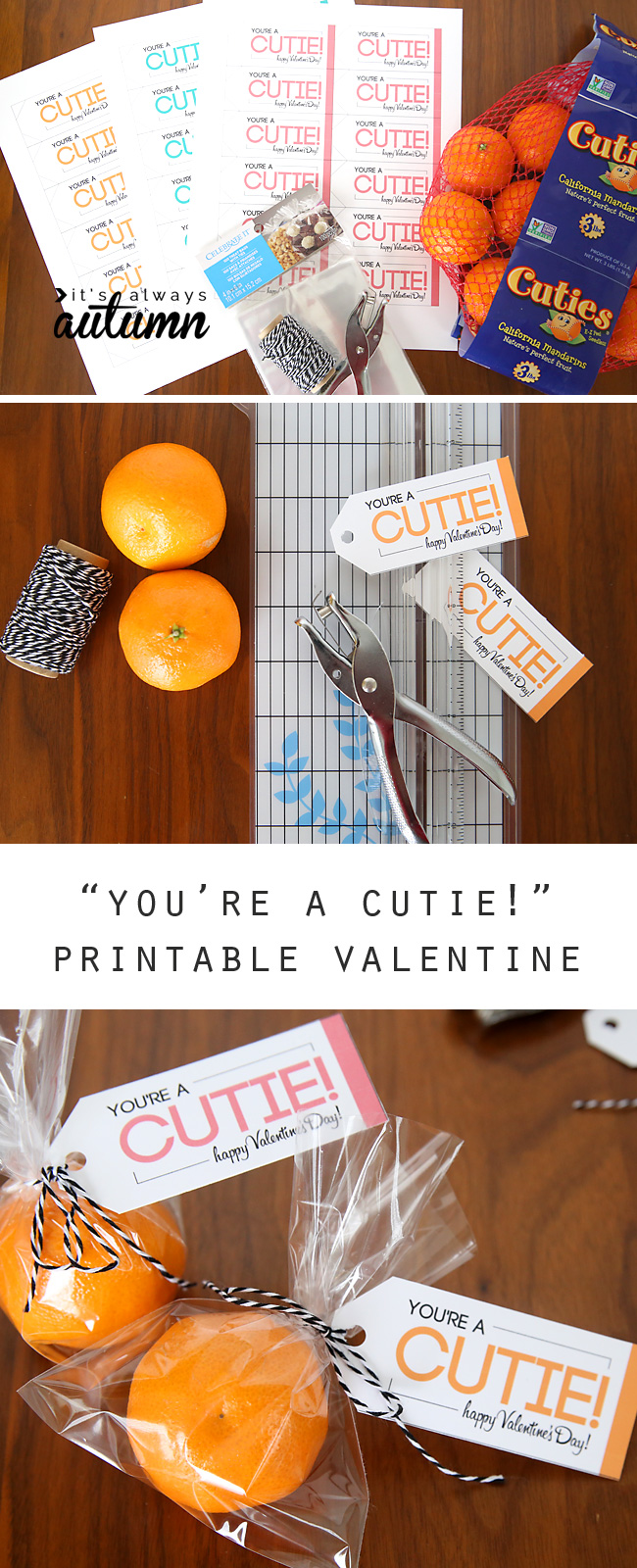 Youre A Cutie Free Printable Healthy Valentine Its