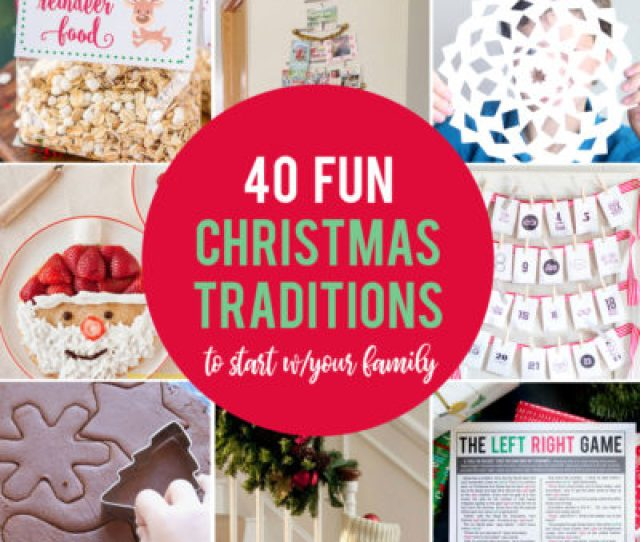 Fun Inexpensive Christmas Traditions To Start With Your Family