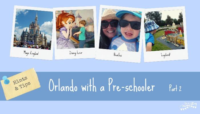 Orlando with a preschooler