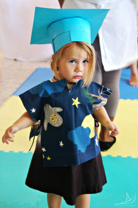Ellia graduating at daycare