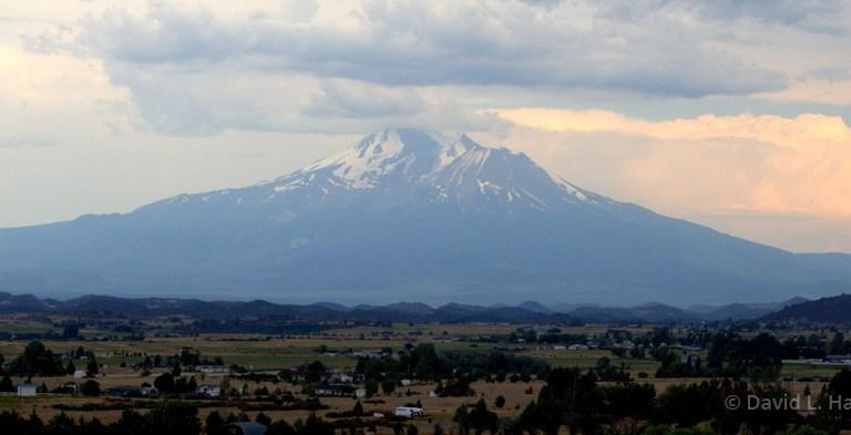 Mount Shasta by David Harkins
