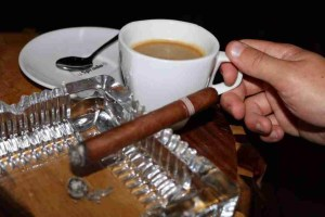 Coffee and cigars