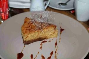Spiced pumpkin conac pie