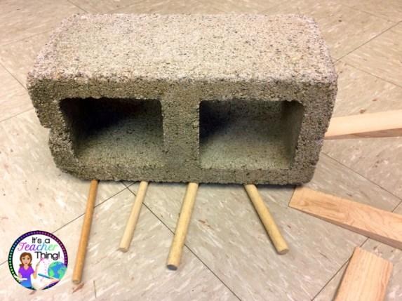 Pyramid Block Moving