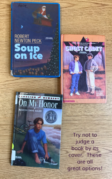 Classroom Book Club novels can have dated covers and still be fantastic selections for student reading.