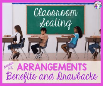 Classroom Seating Arrangements for Grades 4-8 - It's a