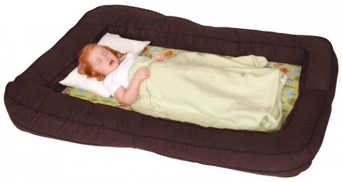 This Portable Bed Has Some Versatile Qualities For More Than Just A Travel Toddlers It Features Comfy Foam Padded Center With Per Cushions