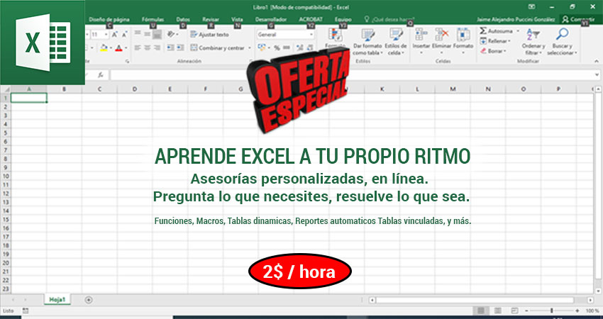 Aprende Excel
