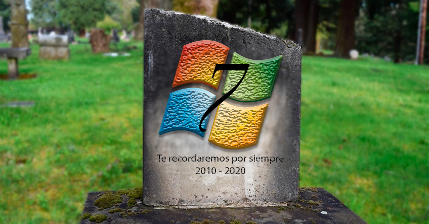 Finaliza soporte de Windows 7