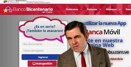 ITSCA - Atacan también al Banco Bicentenario