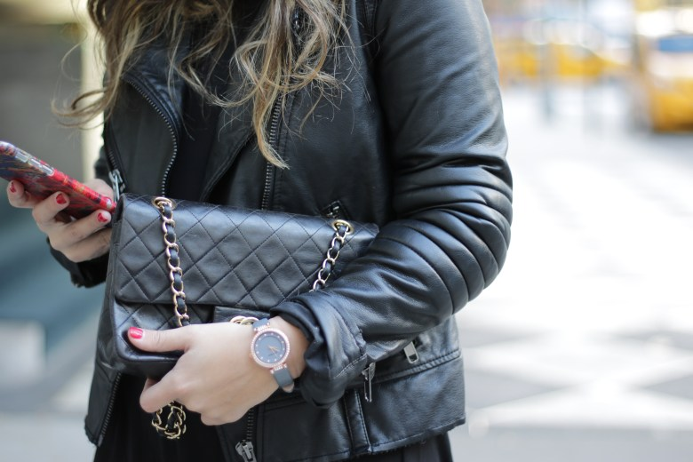 All Black Look With Armitron Watch