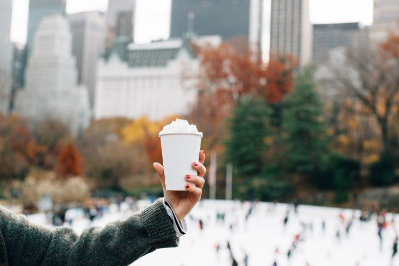 Christmas In New York City: Wollman's Rink, Central Park - A New York City Christmas: Wollman Rink by popular New York City blogger The Champagne Edit