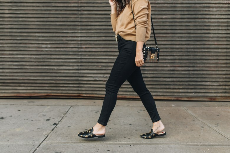 How To Style Gucci Shoes, Princetown Mules, Gucci Mules