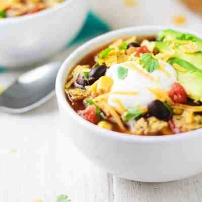 Crock Pot Turkey Tortilla Soup