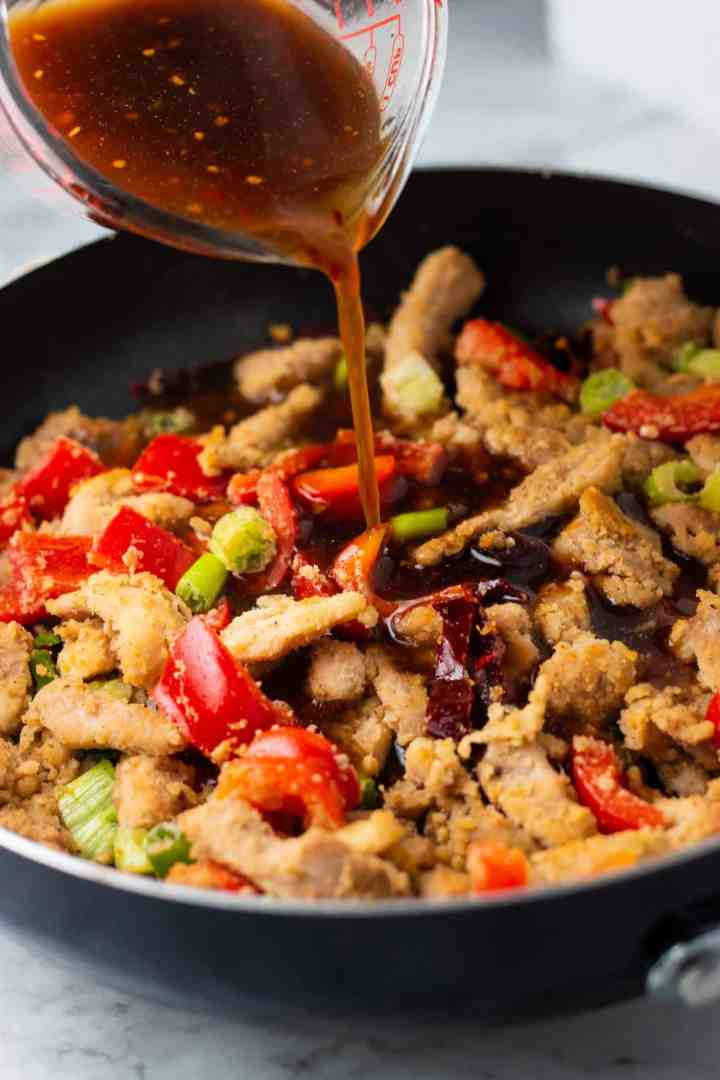Low Carb Mongolian Chicken