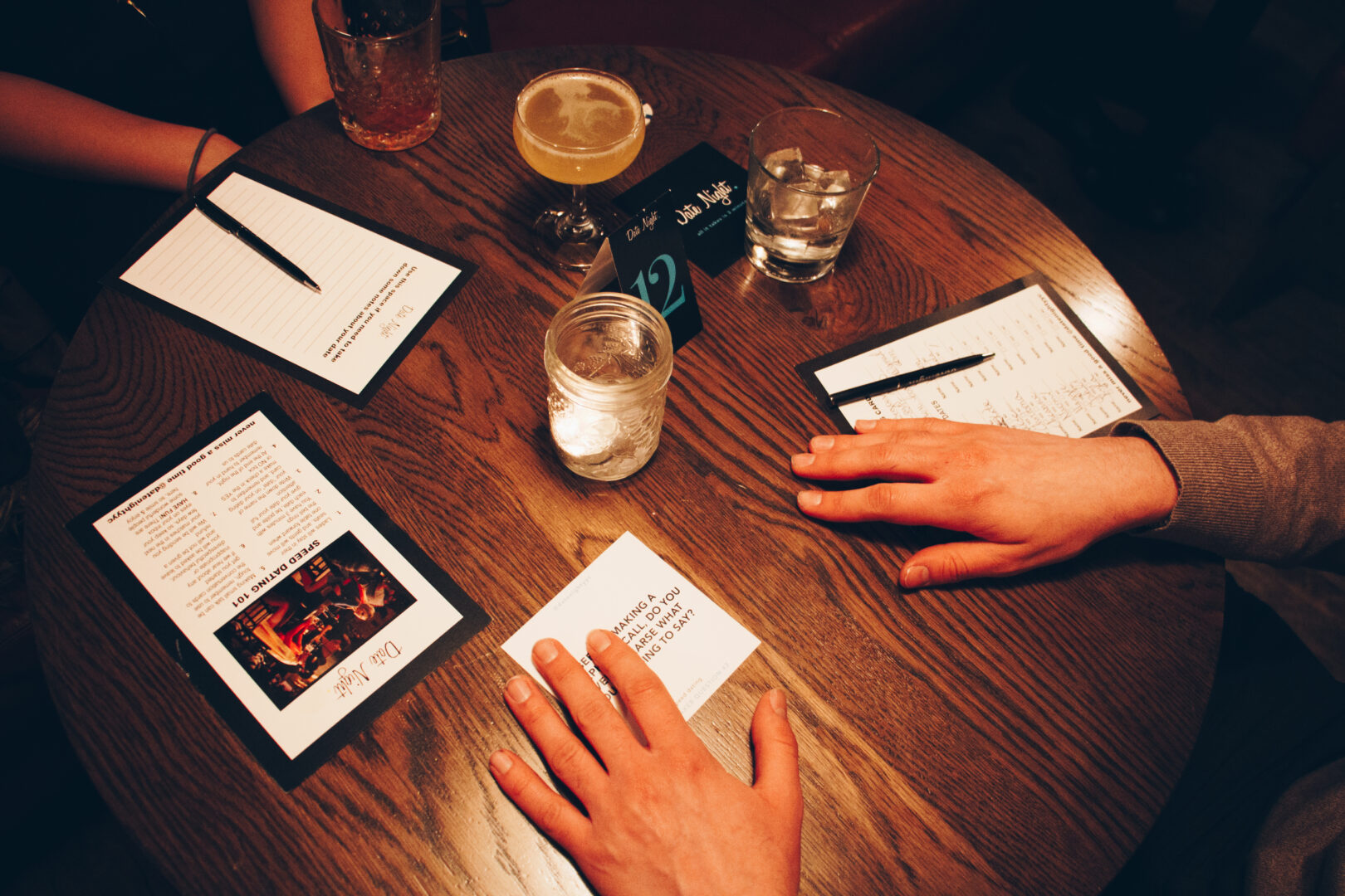 Speed dating for 21 and up