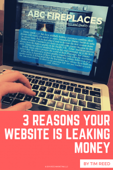 3 Things Your Website is Doing to Leak Money