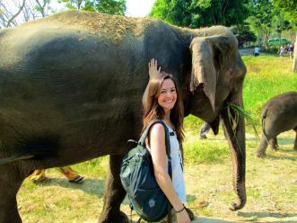 Rachel in Thailand
