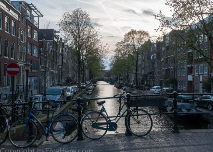 Bikes and Canals in Amsterdam