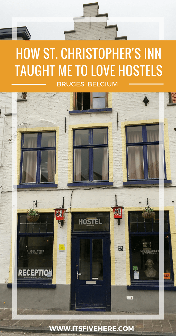 With a Belgian beer bar, nightly beer tastings, and clean rooms, St. Christopher's Inn in Bruges, Belgium taught me to actually like hostels!
