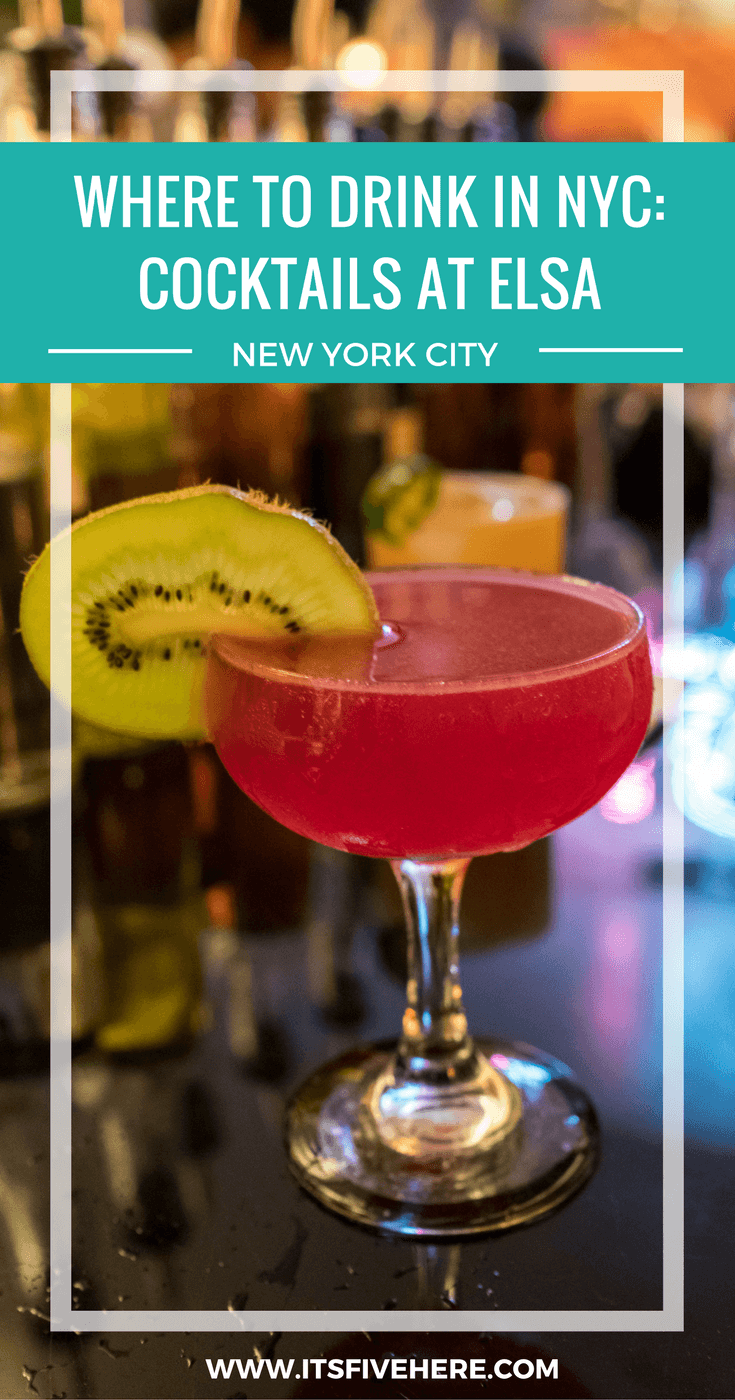 "In ""Booze Buzz,"" we take you to the latest and greatest watering holes throughout the country. Today, we head to Elsa for craft cocktails in Brooklyn."