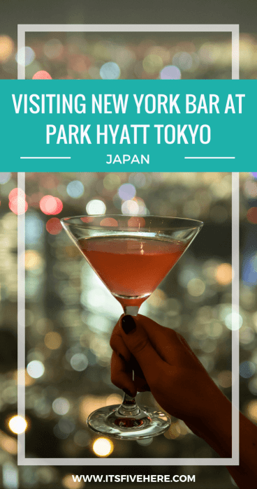 """New York Bar, Park Hyatt Tokyo's iconic hotel bar, looked classy in """"Lost in Translation,"""" but is it worth a detour for wine or cocktails? Yes! Here's why."""