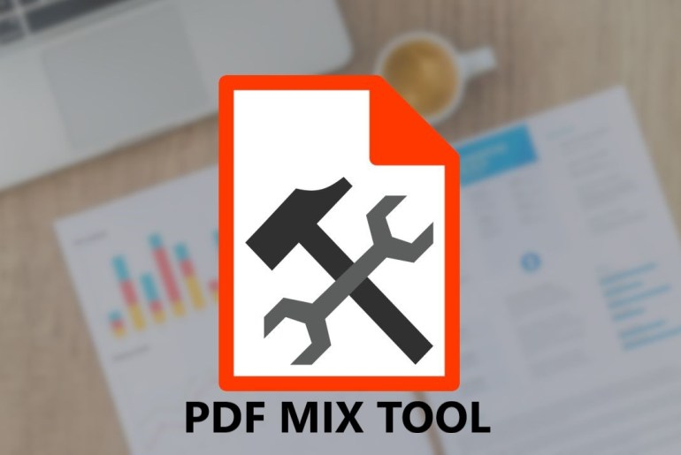 PDF Mix Tool is a simple PDF manipulation tool