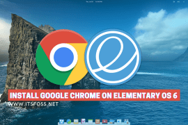install Chrome on Elementary OS 6