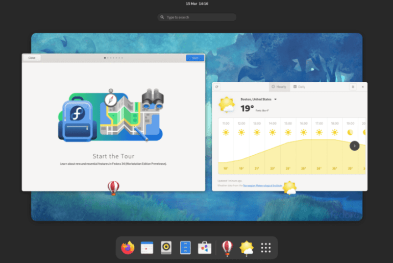 Fedora 35 Beta Available to Download with GNOME 41