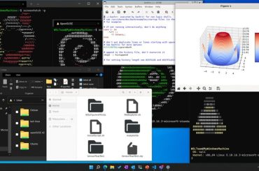 The environment for running Linux applications in Windows 11 will be delivered through the Microsoft Store