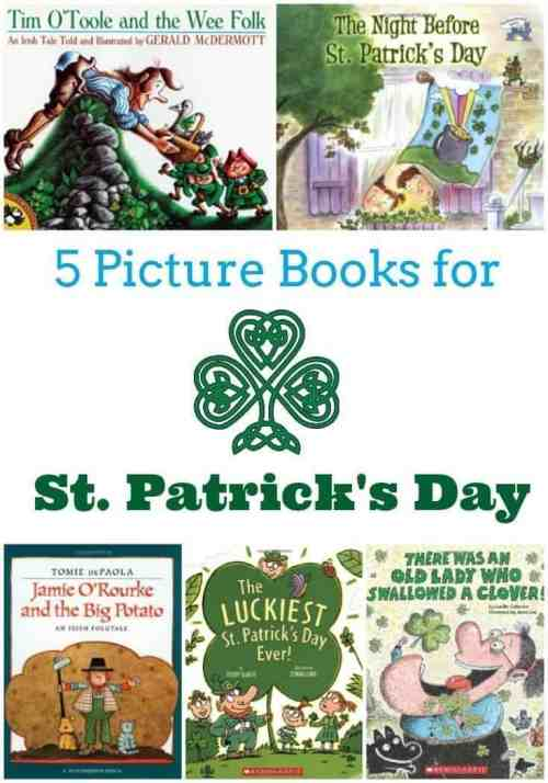5 Picture Books for St. Patricks Day