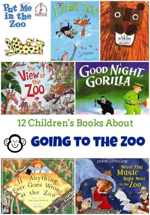 12 Children's Books About Going to the Zoo