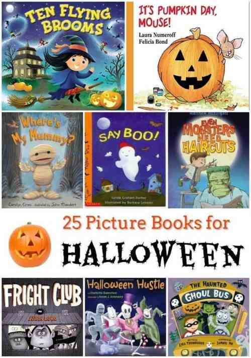 25 Picture Books for Halloween